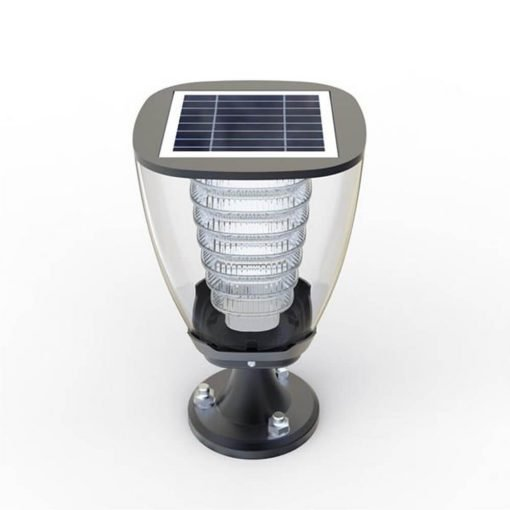 modern stylish solar garden light
