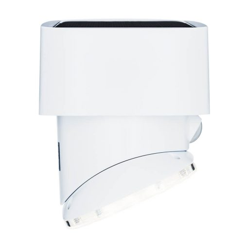 side profile of swivelling security light