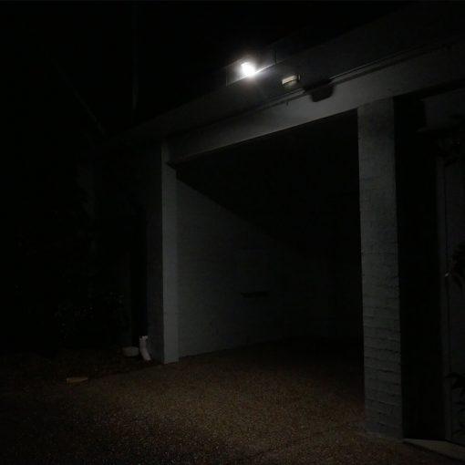 motion sensing security light before turning on