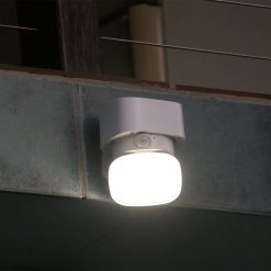 swivelling motion detecting security light