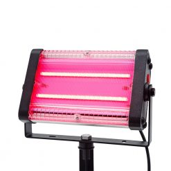 red colour solar party lights online