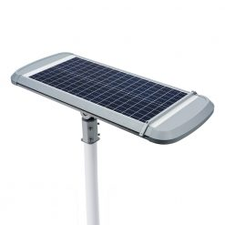 solar panel of self cleaning light
