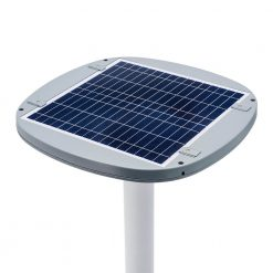 solar panel for thermal light