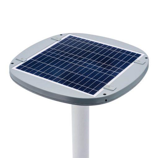 solar panel for thermal light