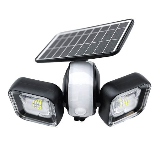 solar security light swivelling 360 degrees with motion detector